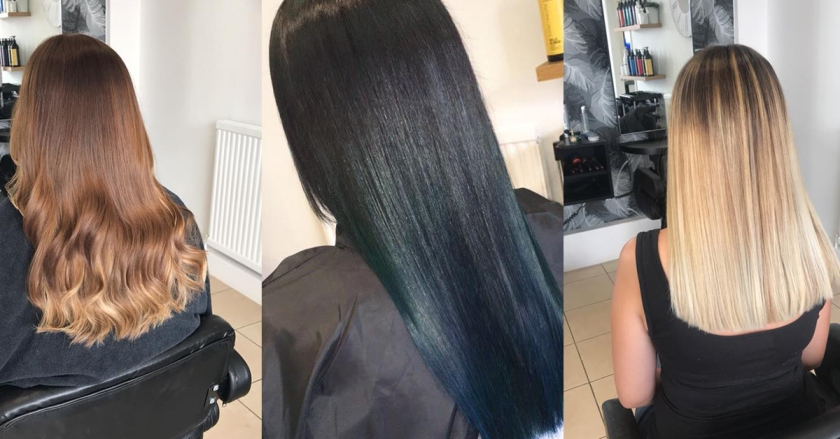 Selection of hair colouring services provided at this Hair Salon in Nottingham